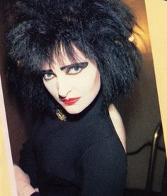 Siouxsie Sioux at her crimped finest in the early 80s