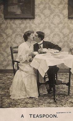 "Tea, the Drink of Love « Read, Seen, Heard ""A Tea Spoon"" - cleverly named card."