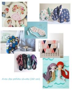 que_faire_avec_chutes_tissu_petites. Kids Corner, Headbands, Diy And Crafts, Sewing Projects, Kids Rugs, Crochet, Inspiration, Voici, Search Engine