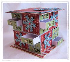 Match Box Advent calender - by Crafts 4 Eternity