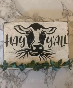 Cow Kitchen Decor, Cow Decor, Wood Home Decor, Barn Wood Signs, Farm Signs, Wooden Signs, Christmas Signs, Christmas Art, Cow Quotes