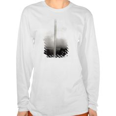 Two views of the construction of the Eiffel 2 Tee T Shirt, Hoodie Sweatshirt