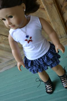 18 inch Doll Clothes Basic White Tank Top by camelotstreasures