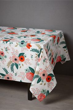 Botanical Garden Tablecloth // by Rifle Paper Co.  -- BHLDN