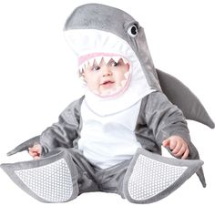 Silly Shark Infant & Toddler Costume | Baby's First Halloween Costume