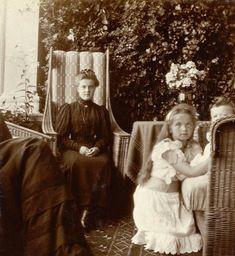"Grand Duchess Maria Pavlovna Romanova of Russia (the Younger),Grand Duchess Olga Nikolaevna Romanova of Russia and Tsarevich Alexei Nikolaevich Romanov of Russia   ""AL"""