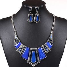 Womens Bold Statement Jewellery Set For Spring / Summer ( 5 Colours ). Only at www.pandadeals.co.uk