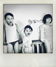 3 enfants et Mimi Lou