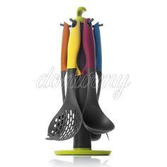 Set Utensilios y Soporte Colorful Ibili - Donurmy.es