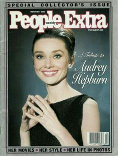 I bought this magazine when Audrey passed away and read it over and over, until it was falling apart. I was ten.