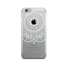 Mandala de Apple claro caso iphone claro iPhone 7 caso por CaseYard Cool Phone Cases, Iphone 8 Cases, Iphone 5s, Plus 8, Tech Gifts, Tech Gadgets, Custom Wood, Plastic Case, Leather Case