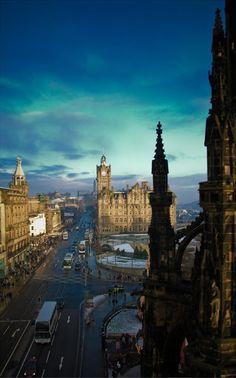 Lugares espectaculares : Beautiful Edimburgo, Escocia