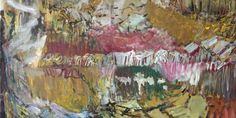 Per Kirkeby: Uden titel, 2011, Tempera på lærred (300 x 350 cm) © Galerie Michael Werner, beskåret)