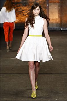 Christian Siriano Spring Summer 2012 Ready-To-Wear collection