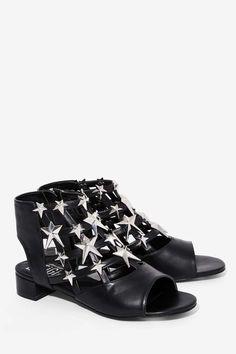 EEight Gisele Open-Toe Flat - Shoes | Flats | Back In Stock | Back In Stock