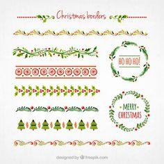 クリスマス限定!すごい無料デザイン素材32個まとめ 2015年版 - PhotoshopVIP