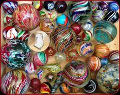 Antique Marbles, Sword Canes - http://antiquesicollect.com