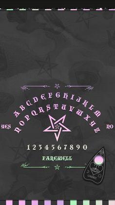 Witchy Wallpaper, Holiday Wallpaper, Halloween Wallpaper, Ouija, Best Iphone Wallpapers, Pretty Wallpapers, Tumblr Wallpaper, Wallpaper Backgrounds, Witch Art