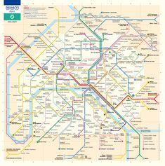 17 Best Metro Transit Maps images