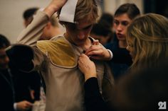 Le 21ème / Backstage at J.W.Anderson, Spring/Summer 2016 | London  // #Fashion, #FashionBlog, #FashionBlogger, #Ootd, #OutfitOfTheDay, #StreetStyle, #Style