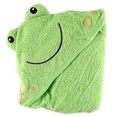 luvable amigos animal cara capucha tejida terry bebé toalla