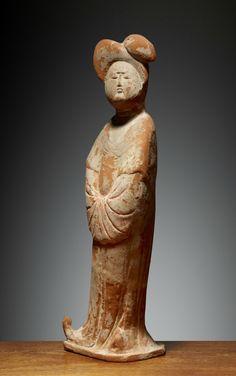 Dame, China, Tang Dynasty (618-907), 8th century