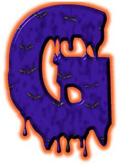 Alfabeto de murcielagos...G