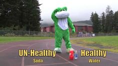 healthy not healthy 2 examples to rocky song Red Ribbon Week