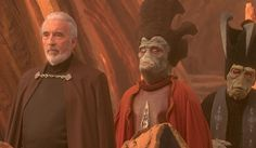 Nute Gunray and Count Dooku #nute #gunray #star #wars