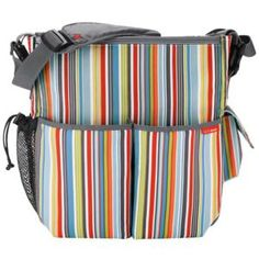 skip Hop Duo Deluxe Diaper Bag Metro Stripe - Picked this up brand new for $28 on amazon!