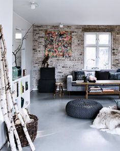Renovated home of a family of four - via Coco Lapine Design