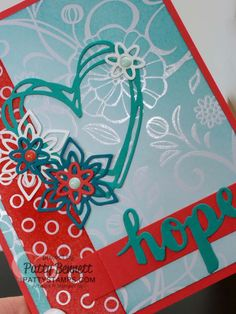 If you need some really versatile background paper for your Stampin' Up! cards and craft projects, try the Irresistibly Floral paper!! You can use a brayer, spritzer, sponge, brush, aqua painter or