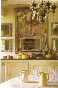 A French Rustic Rhapsody....See More at thefrenchinspiredroom.com