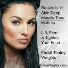 Facial Toning Weights: For Facial Toning, Face Lifting, Face Firming, and Facial Fitness Facial Exercises, Face Facial, Muscle Tone, Build Muscle, Facial Fitness, Face Lifting, Weights, Beauty, Building