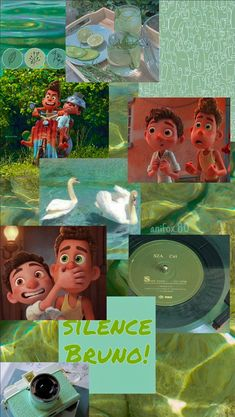 Wallpaper Luca Pixar