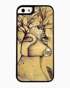 iPhone 4 4S 5 5S 6 Phone Case Deer by MerandaTurbak on Etsy