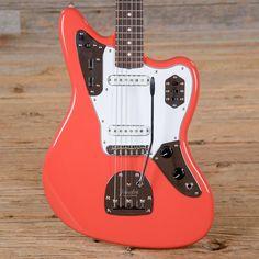 Fender Classic '60s Jaguar Lacquer Fiesta Red (s002)