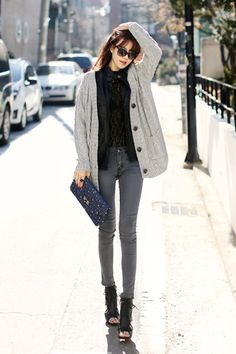 Korean street fashion | Source | More                                                                                                                                                                                 More
