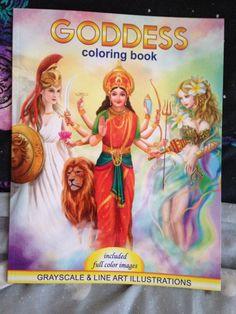 COLOURING BOOK REVIEWS · GODDESS - ALENA LAZAREVA