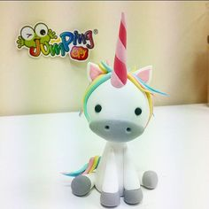 #unicorn  #babyunicorn ✨ #jumpingclay #jumpingclaytr www.jumpingclay.com.tr