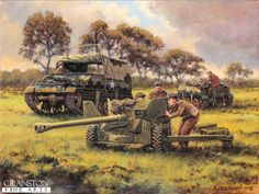 British 6pdr. and Lloyd Carrier
