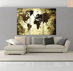 Large canvas print rustic world map large wall art world map art large canvas print rustic world map large wall art world map art extra large vintage world map print for home and office wall decoration pinterest gumiabroncs Images