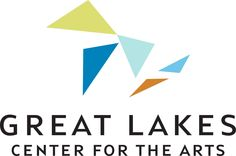 Logo for Great Lakes Center for the Arts — at Bay Harbor, Michigan.