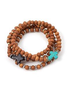 Ramona Sandalwood Bracelet Set