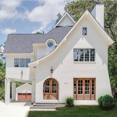 70 Most Popular Dream House Exterior Design Ideas Future House, My House, Tudor House, Design Exterior, Exterior Paint, Interior Design, Interior Office, Style At Home, Architecture Design