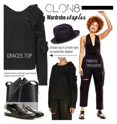 """""""CLON8"""" by cly88 ❤ liked on Polyvore featuring The Viridi-Anne, 3.1 Phillip Lim and Gucci"""