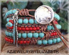 Southwestern Native American Turquoise by AZJEWELRYBYELIZABETH