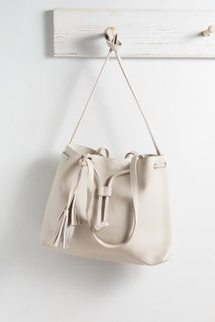 Hudson Tote | Taupe $30