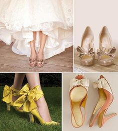Gorgeous shoes with bows