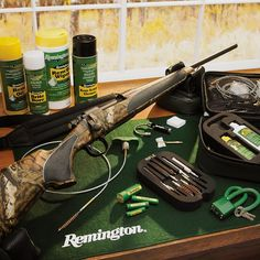 Today's most advanced gun care. By America's most trusted gunmaker. What is your go-to Remington gun care product?
